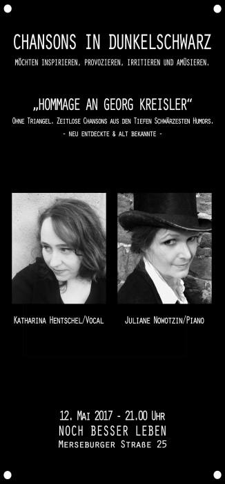 Chansons in Dunkelschwarz – Noch Besser Leben 12. Mai 2017